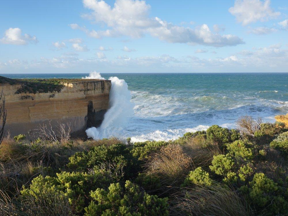 Felsformation an der Great Ocean Road