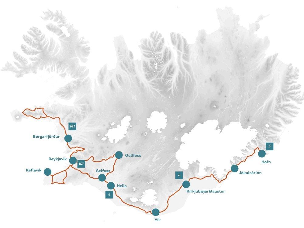 Vulkane-Nordlicher_Karte