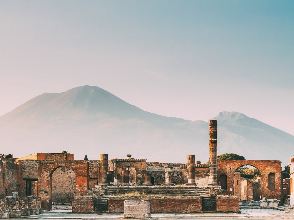 Pompeji - Tempel des Jupiter oder Kapitolium