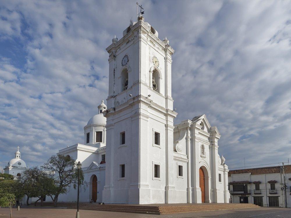 Kirche in Santa Marta