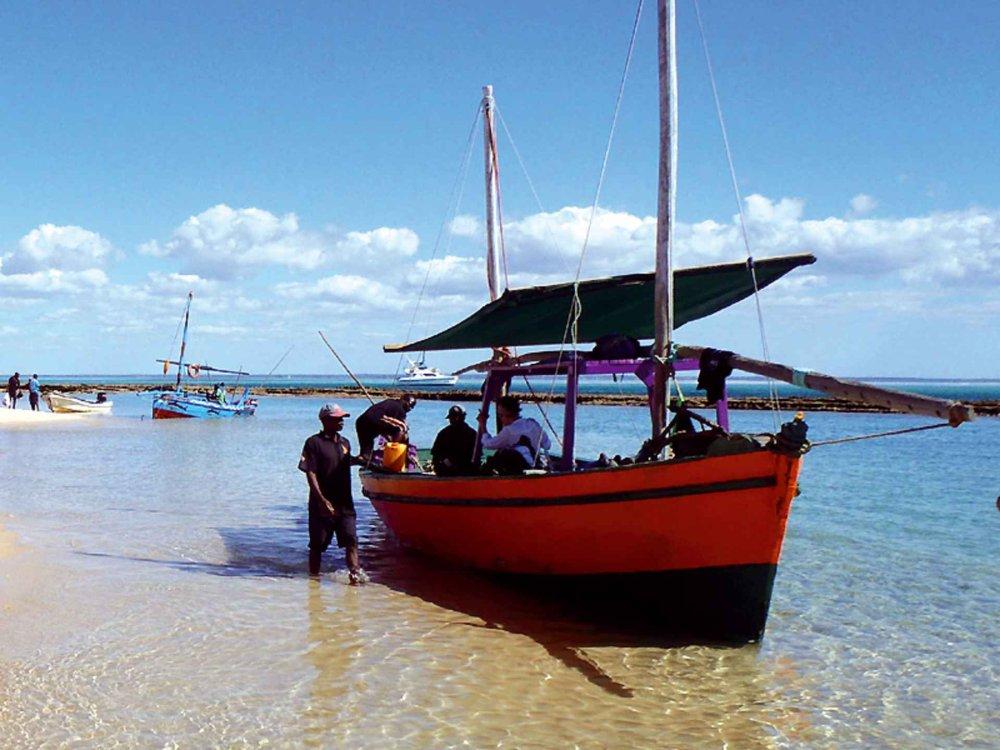 114Y32004 Mosambik Dhow Camping Safari Karte