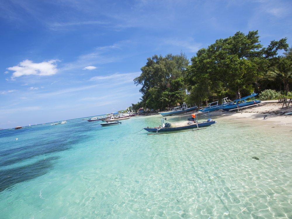 Gili Islands Strand
