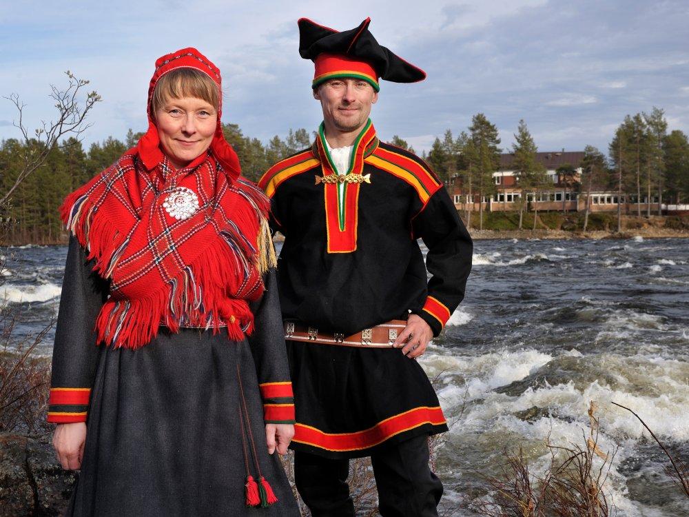 Die Besitzer Kaisu und Heikki vom Hotel Kultahovi