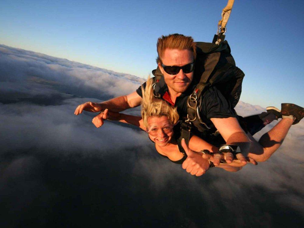 Fallschirmspringen - Irgendwo an der Ostküste von Australien