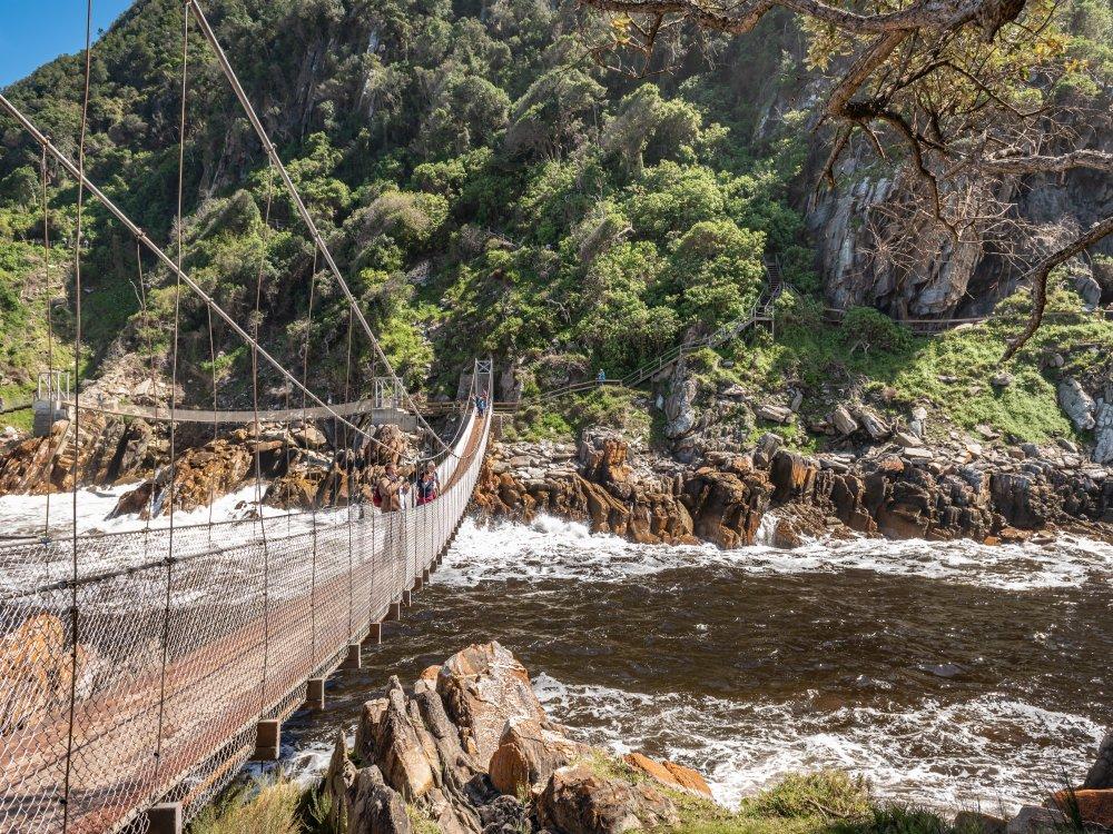 Hängebrücke Tsitsikamma