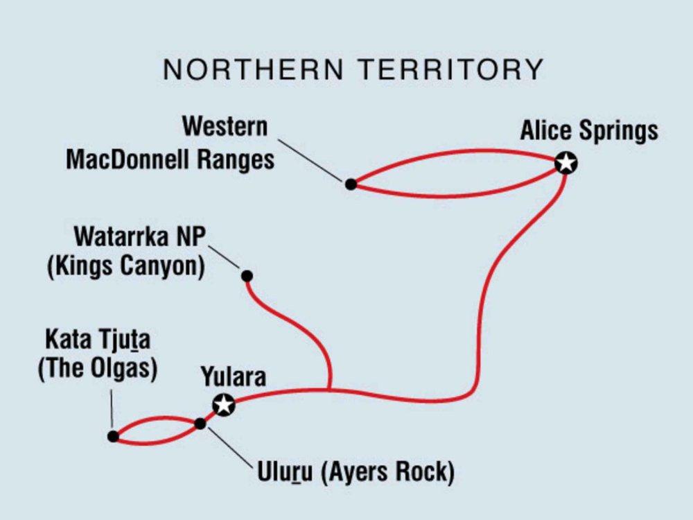 104A20005 Abenteuer Rotes Zentrum Karte