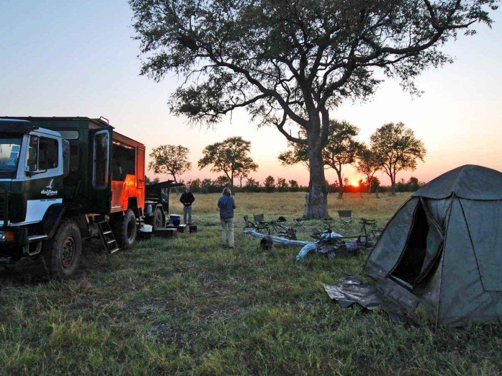 Botswana Camping-Safari
