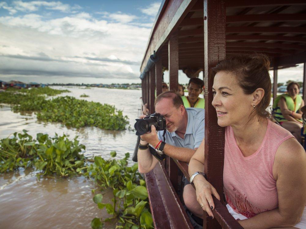 Floating Village boat excursion