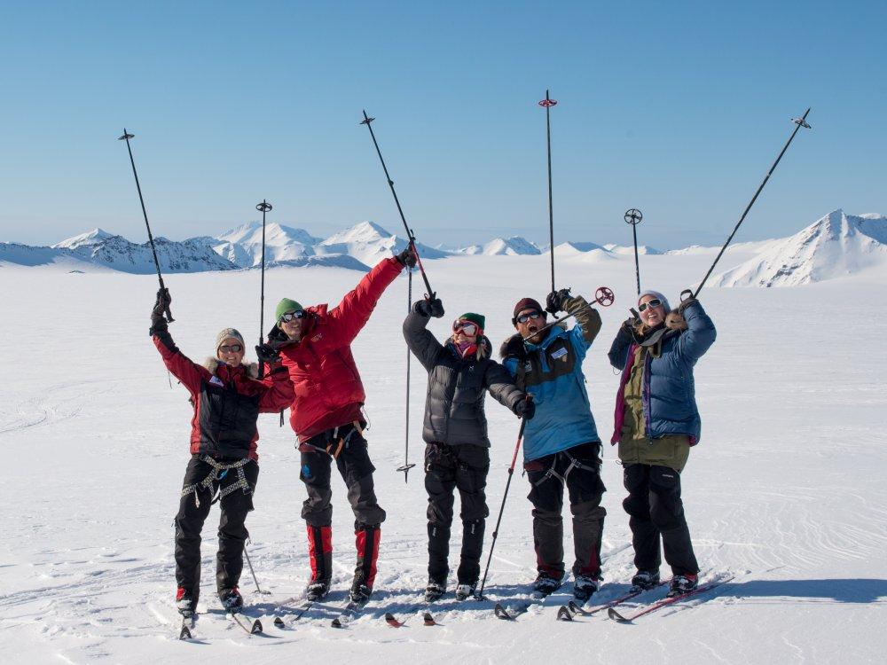 Ski-Expedition Spitzbergen