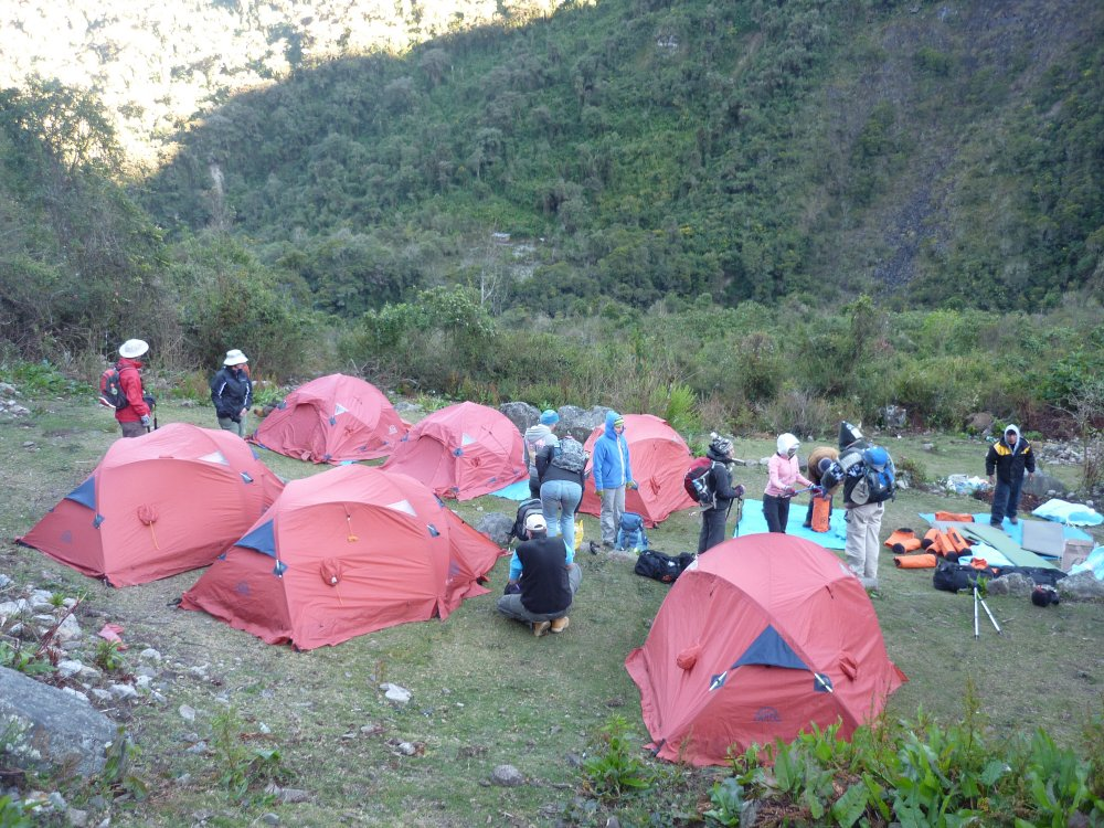 Campingplatz Salkantay Trek