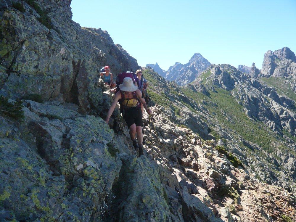 Korsika - Nord - am Fels