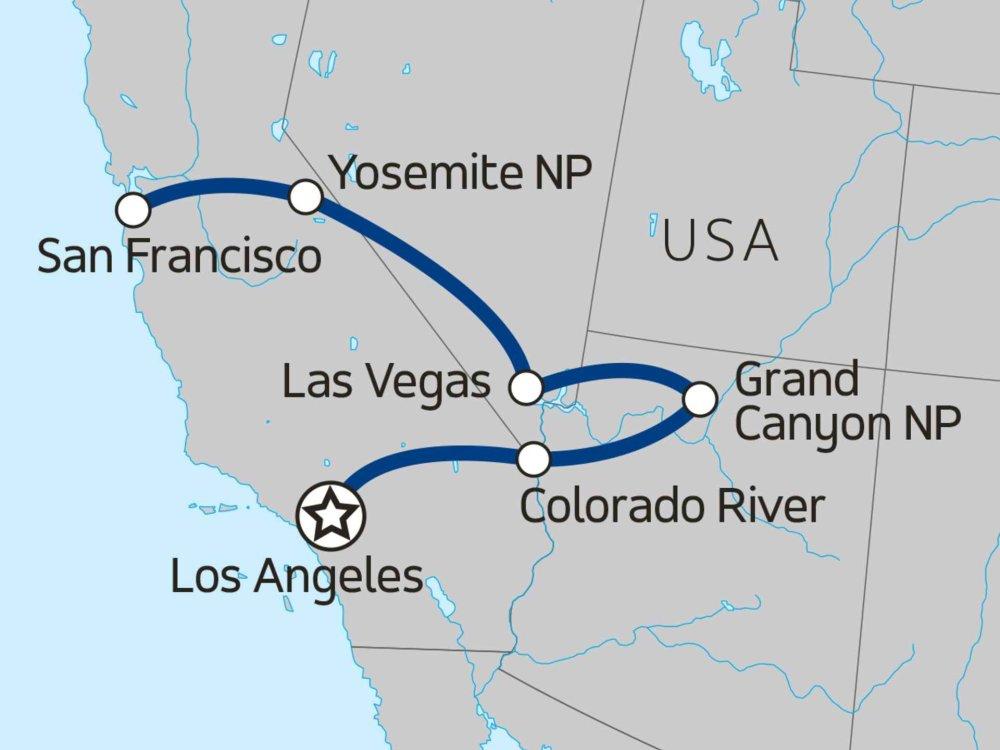 139Y10049 Erlebnis Westküste II Karte