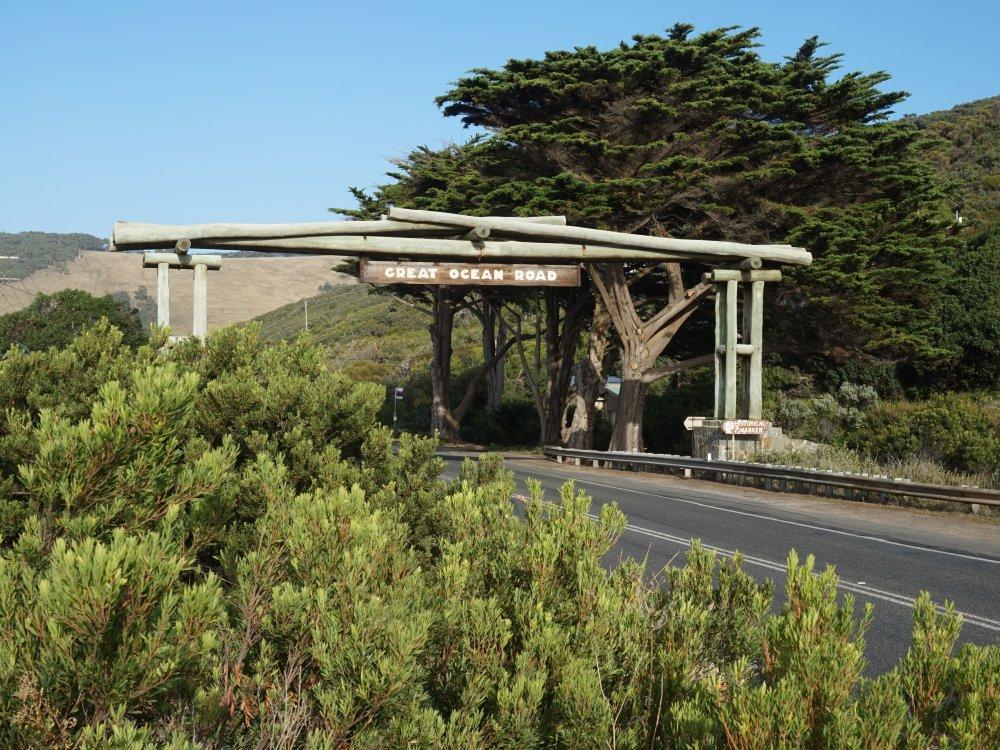 Great Ocean Road Eingangstor