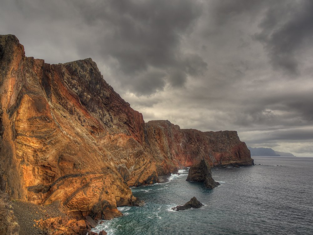 Küste Ponta de Sao Lourenco Madeira