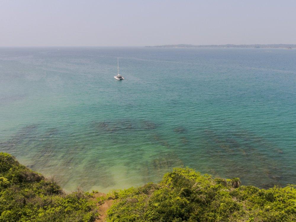 Sri Lanka Sailboat Drone Shot - Supplier Photos Residential Cruise SOUTH 10 2017 Lg RGB