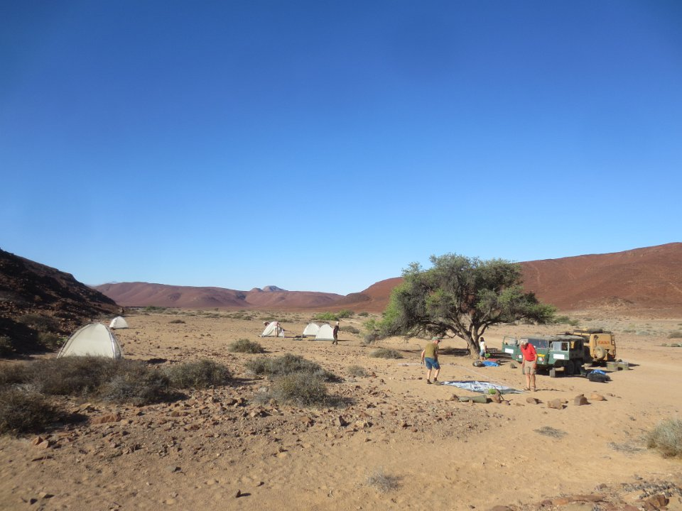 Wildnis Camping in Namibia
