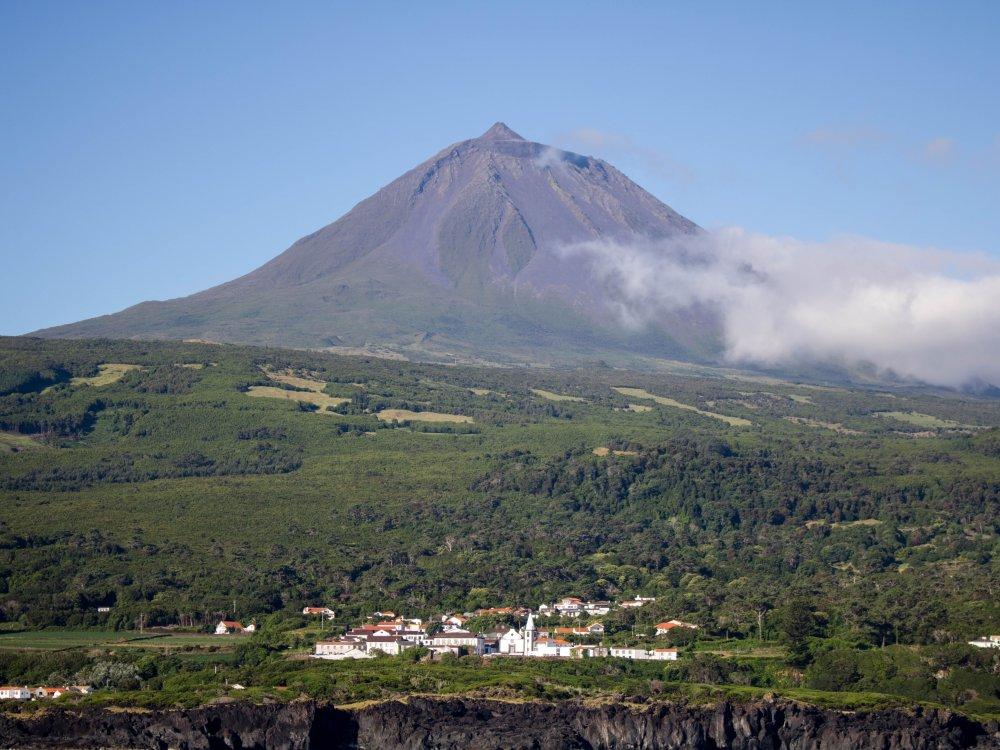 Der Vulkan Pico auf den Azoren