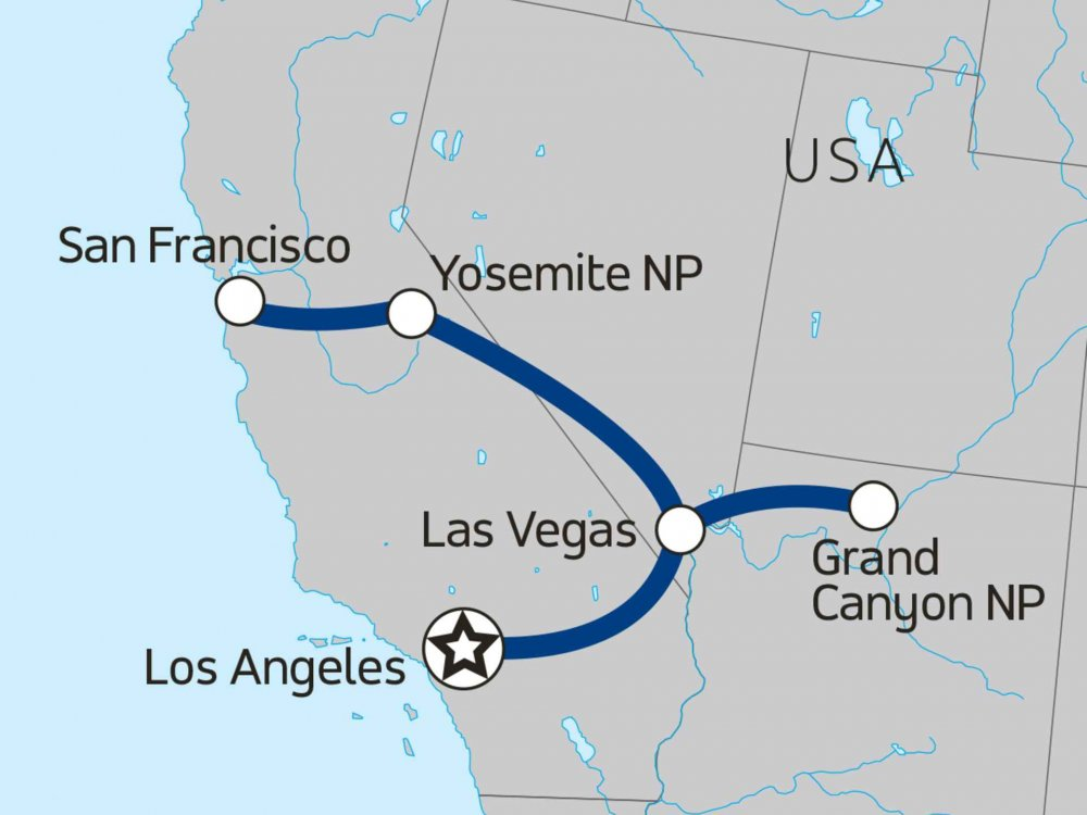 117Y20007 West Coast Trippin' Karte