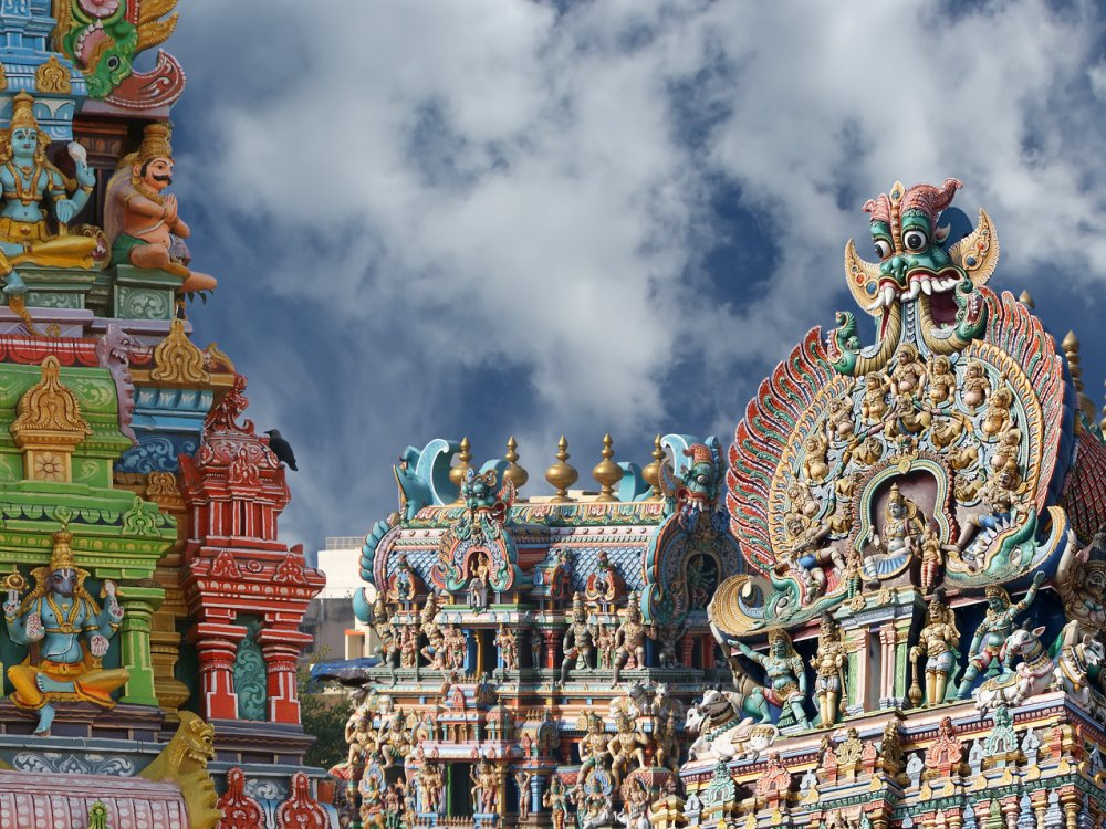 Minakshi Tempel Madurai