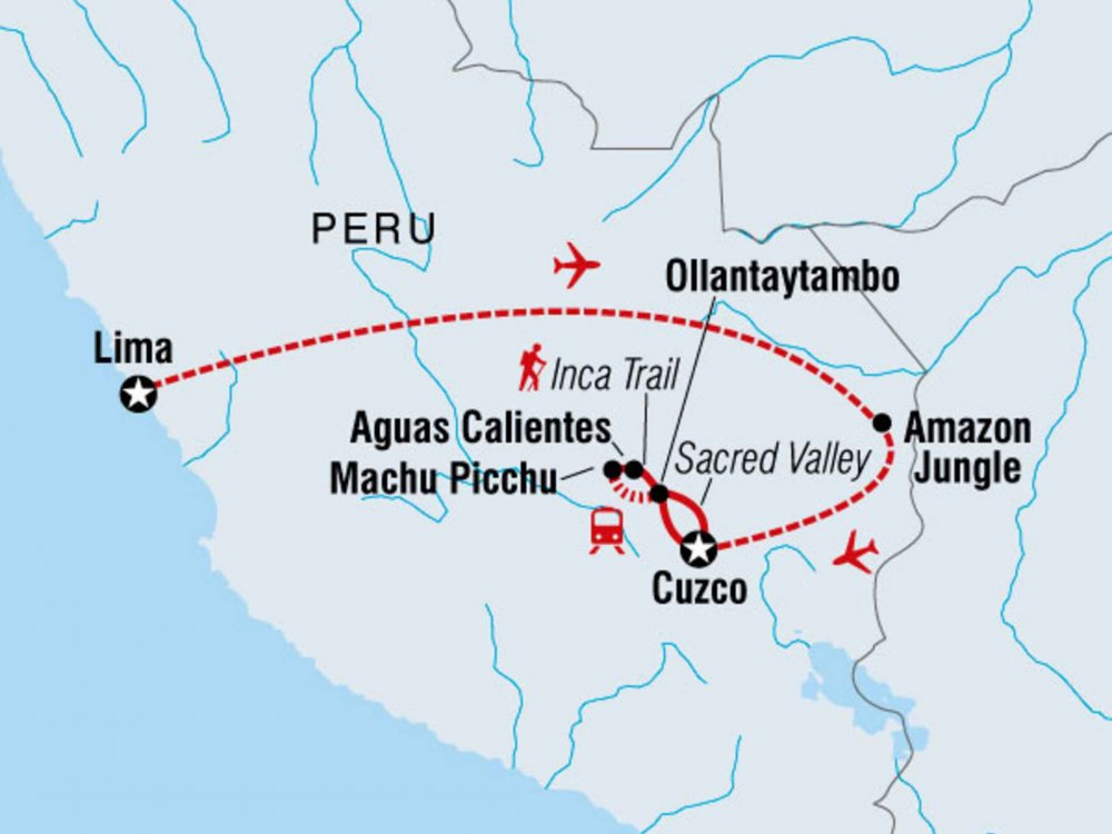 122Y60266 Inka Encounter Karte