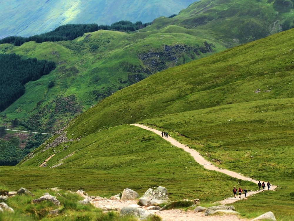 Wandern am Ben Nevis