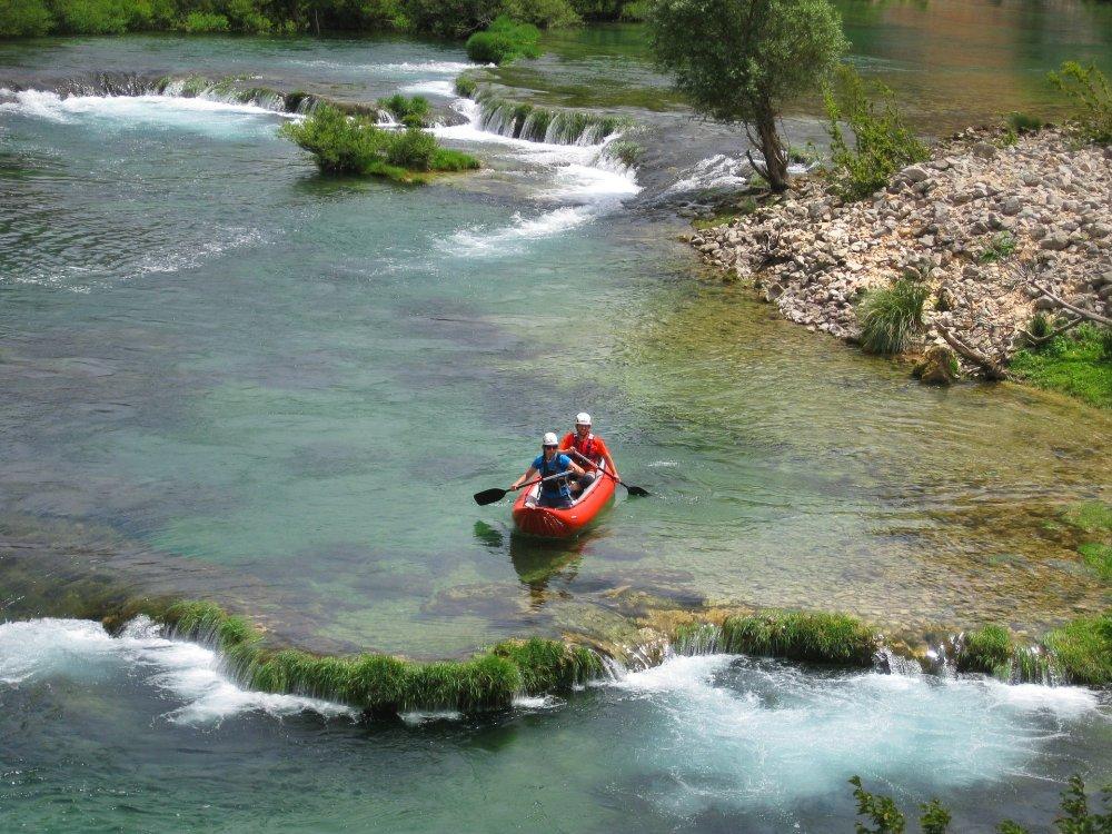 Kanutour auf dem Zrmanja River
