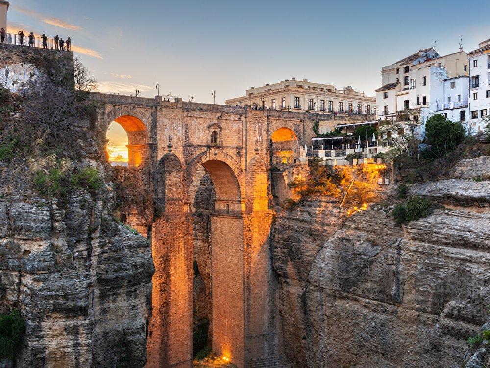Puente Nuevo Brücke in Ronda