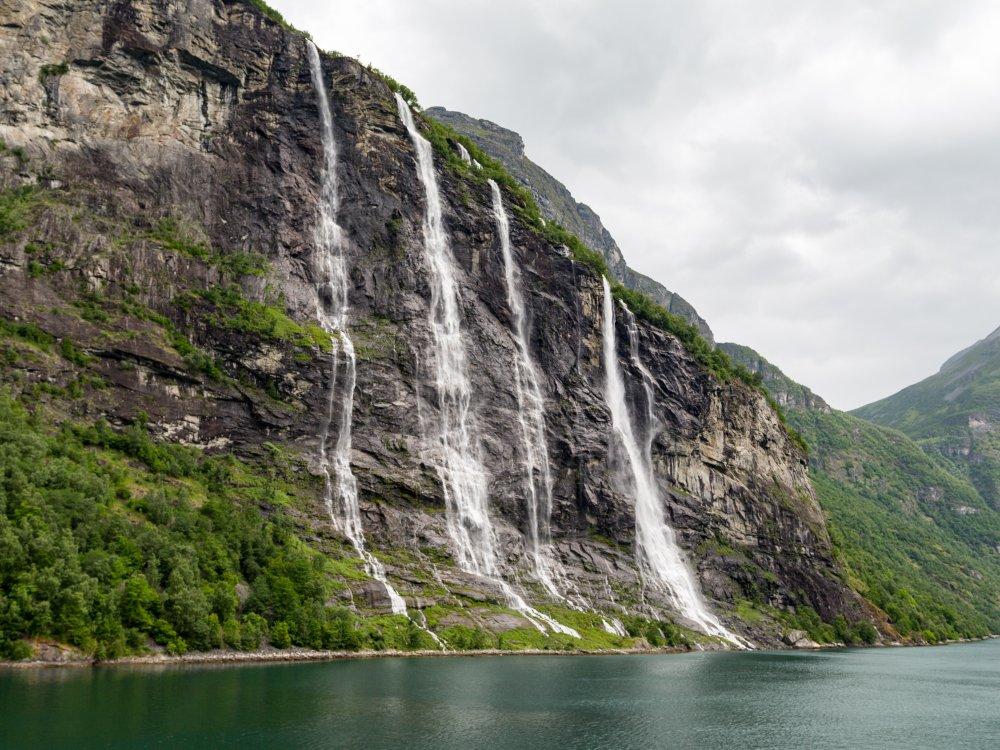 Geiranger Wasserfall
