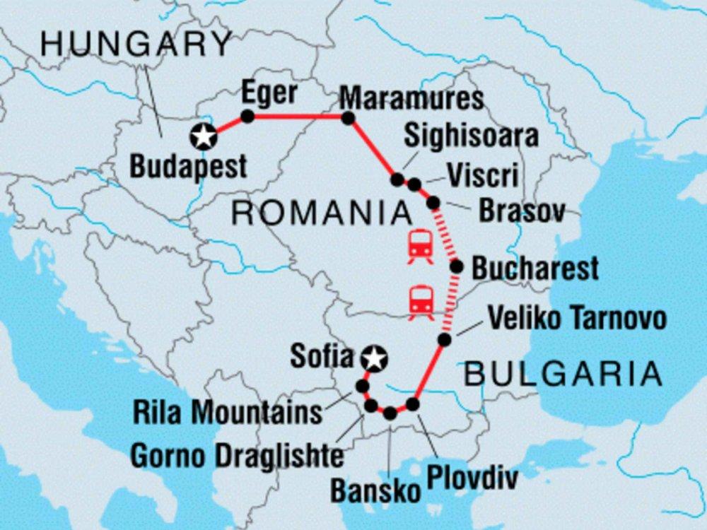 122Y21032 Osteuropa Entdecker Karte