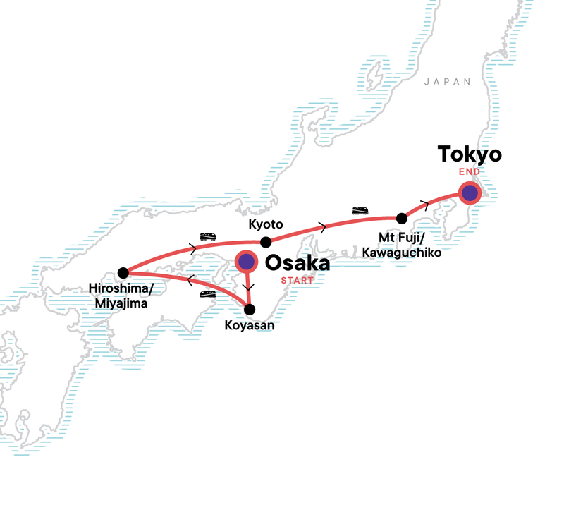 Japan Express Karte