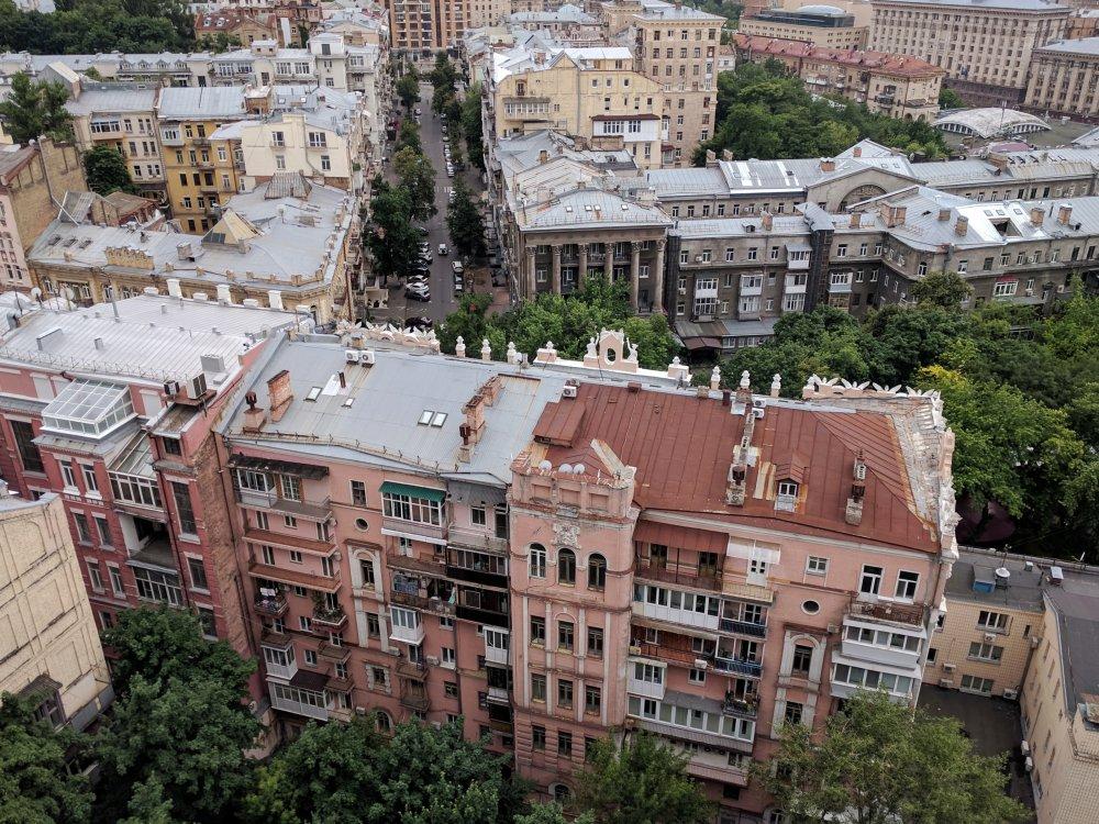Kiew Luftaufnahme