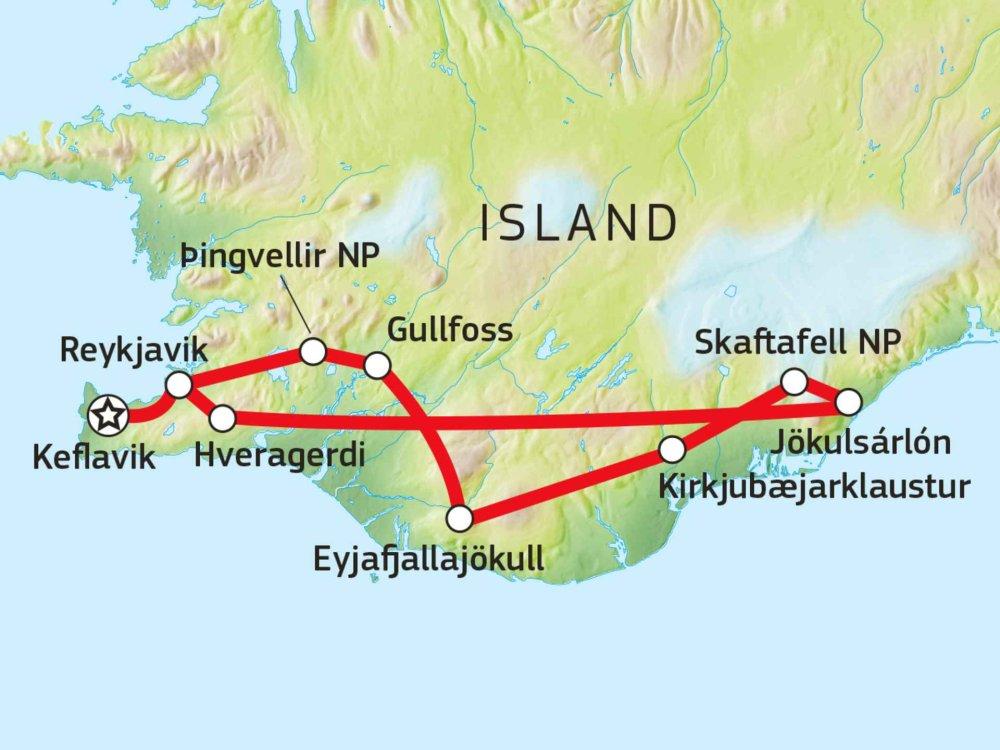 147Y10111 Eisiges Abenteuer Karte