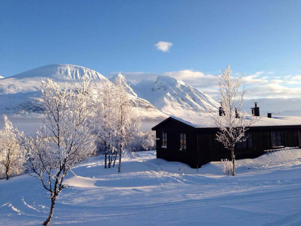 Schneeschuhtour im Naturreservat Vindelfjällen