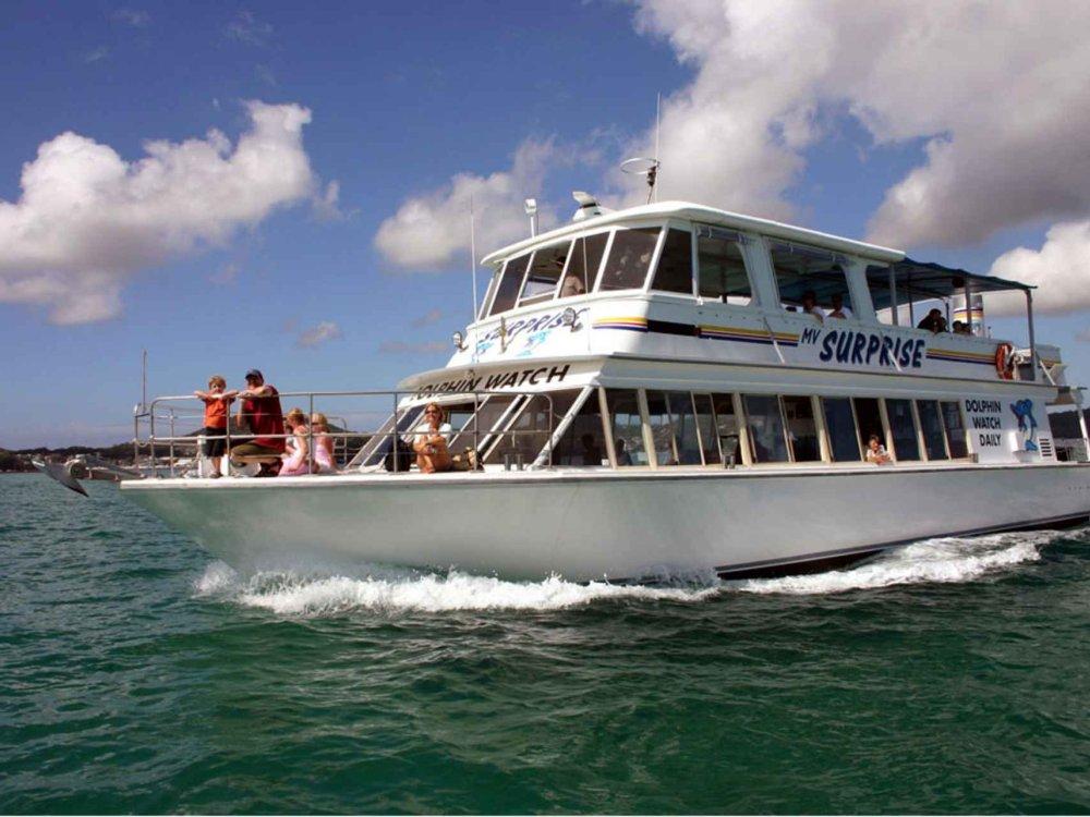 Port Stephens Delfinbeobachtung