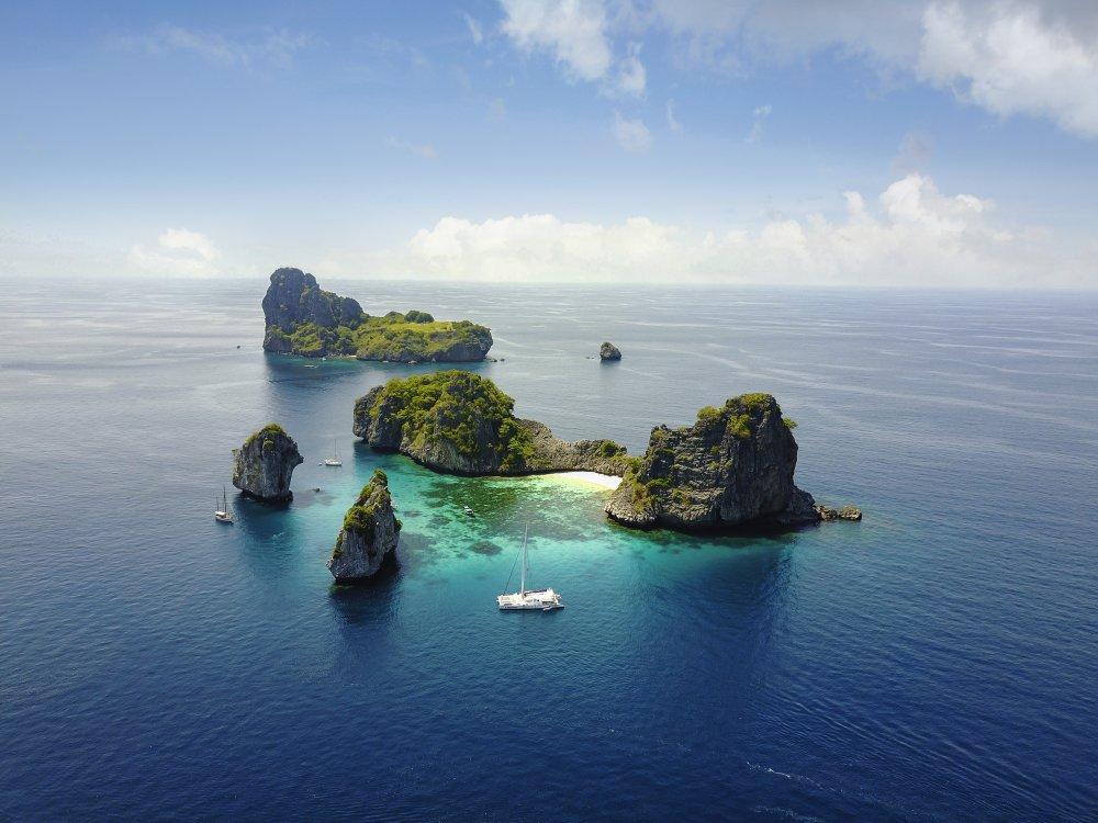 Thailand Phuket Inseln Segeltour