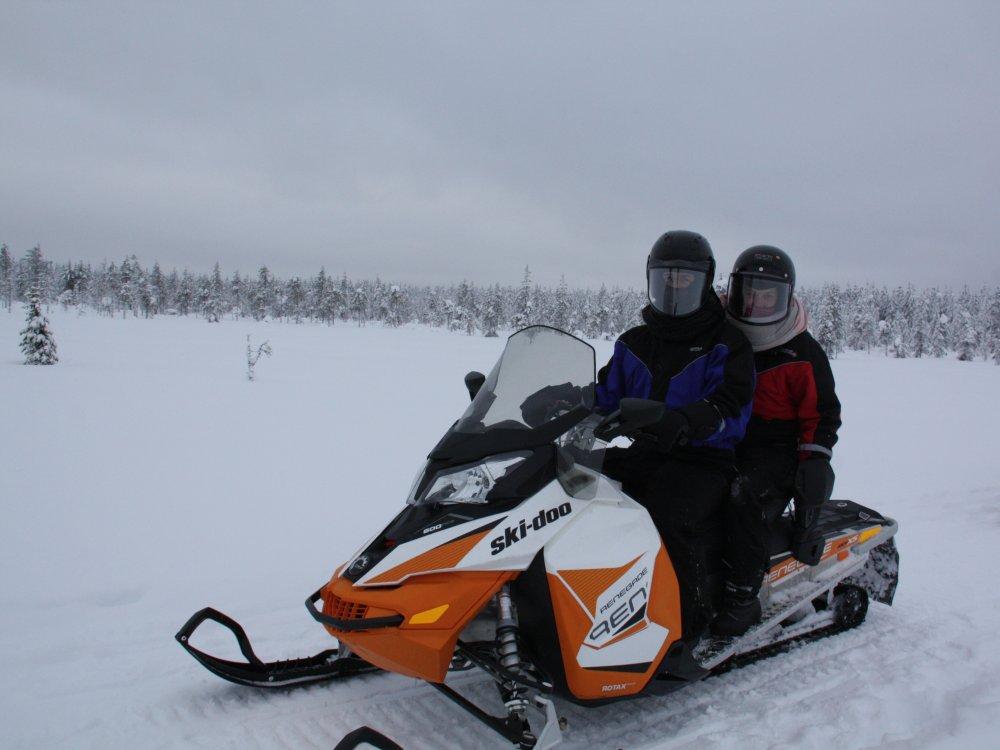 Schneemobil Ausflug_1