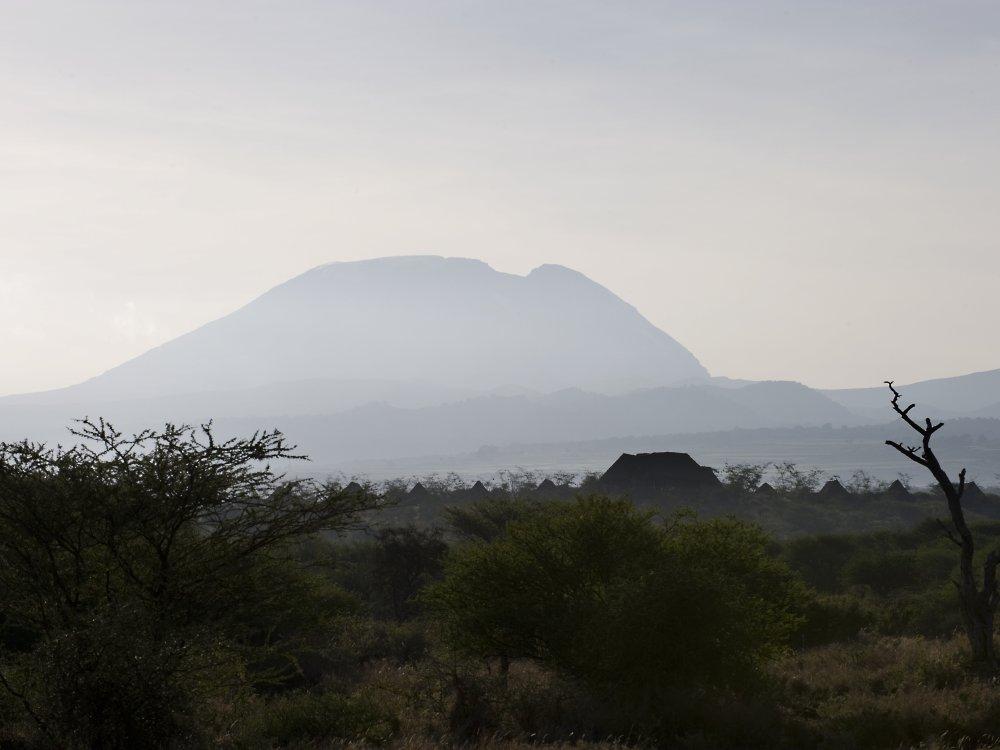 West-Kilimanjaro Landschaft