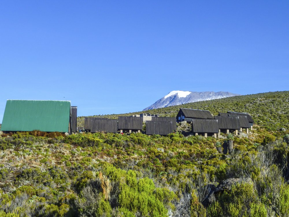 Marangu Berghütten in malerischer Lage am Kilimandscharo