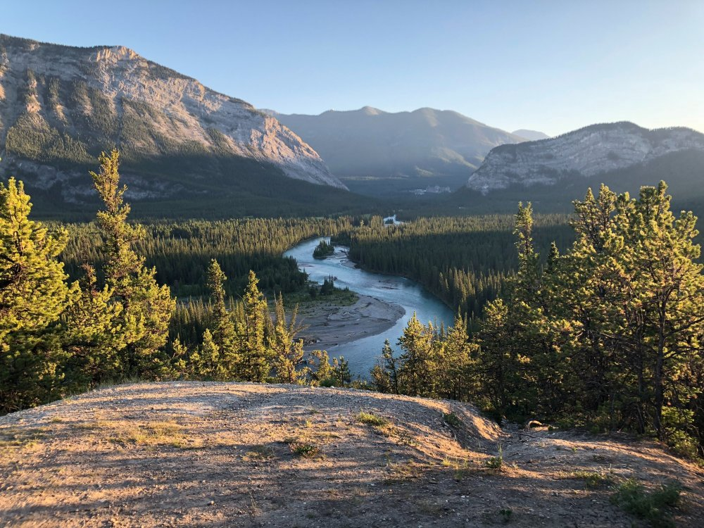 Fluss im Banff Nationalpark
