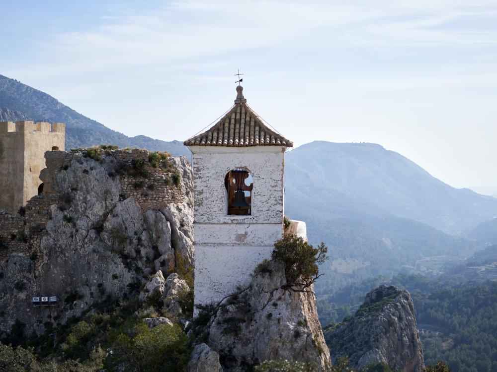 Kirche in Guadalest