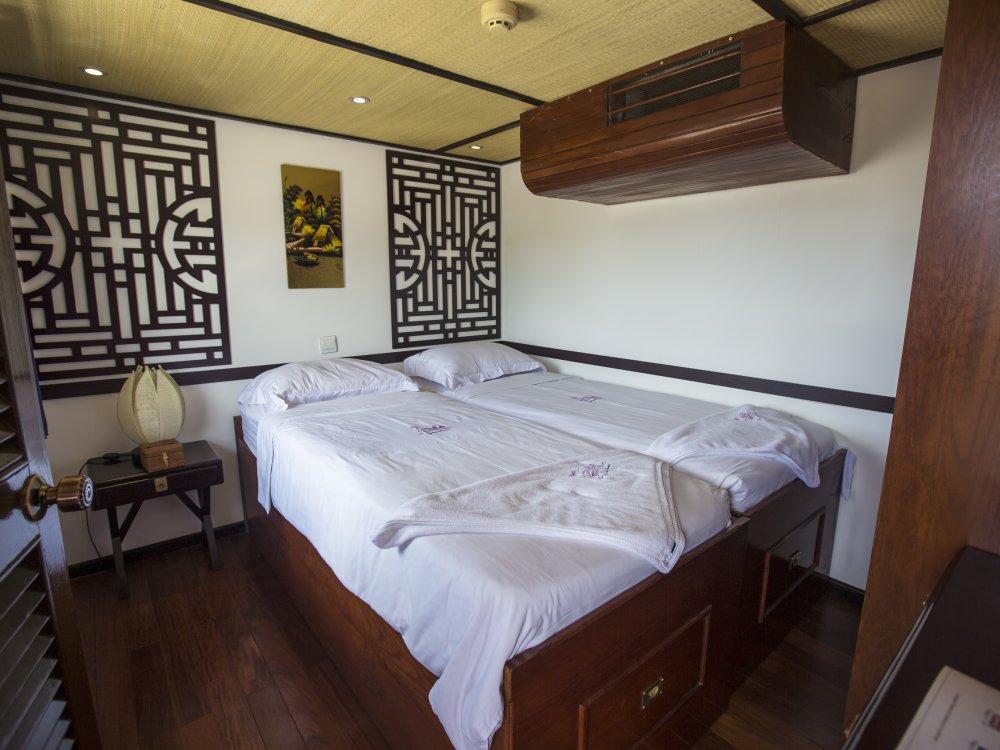 Mekong Riverboat Interior Cabin