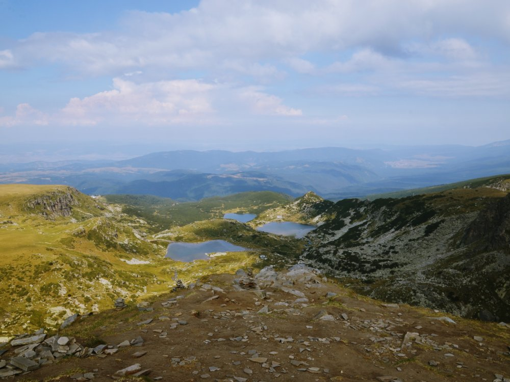 Seen im Rila Gebirge