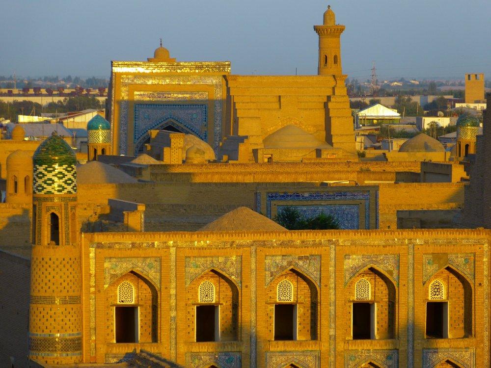Khiva Stadtansicht