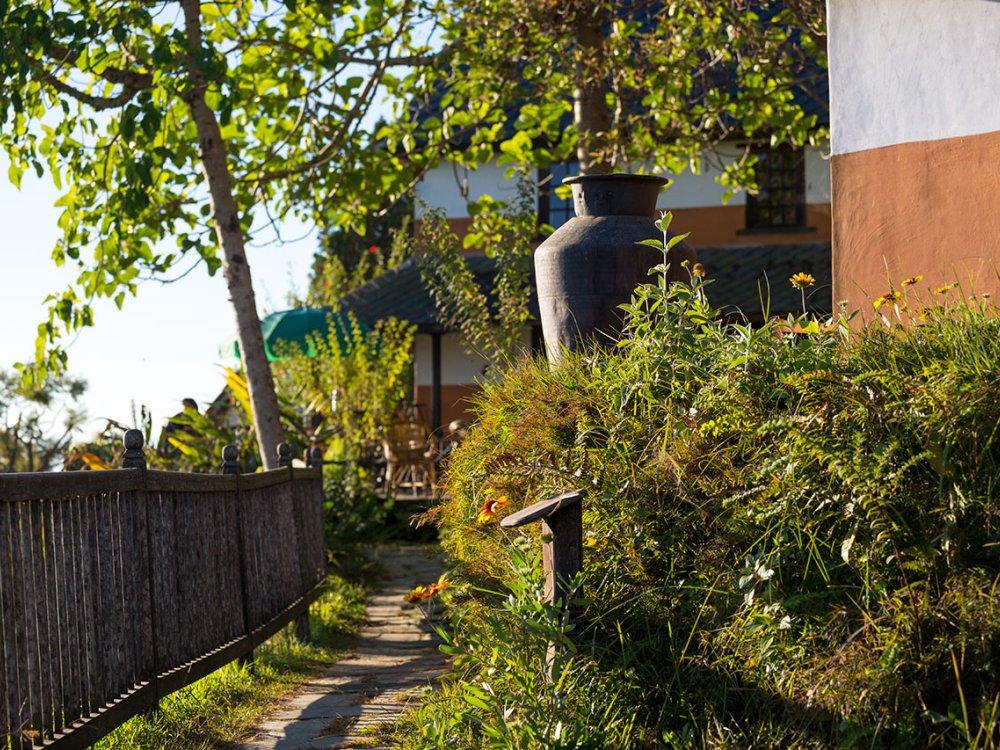 Namobuddha Garten