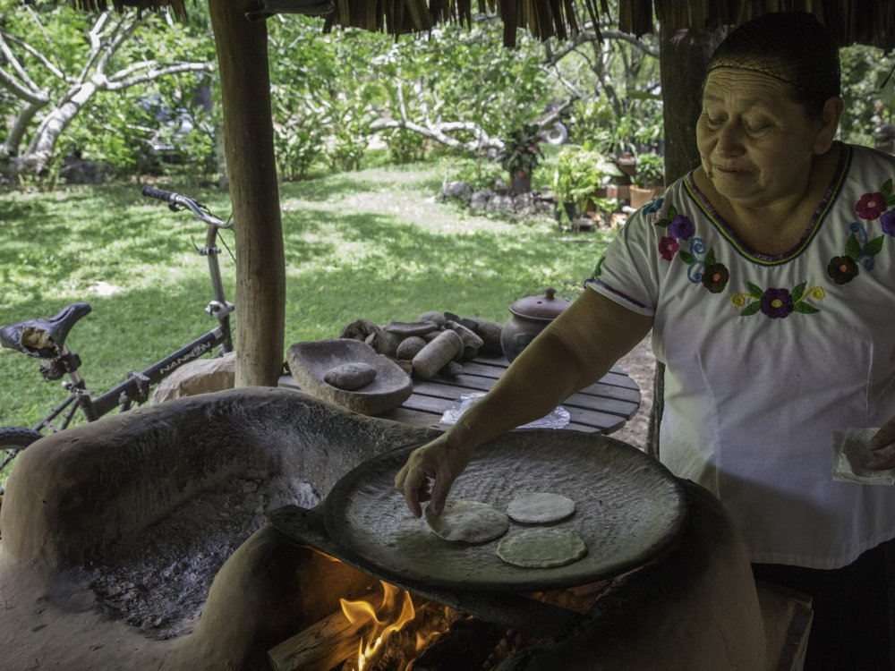 Tortilla Herstellung