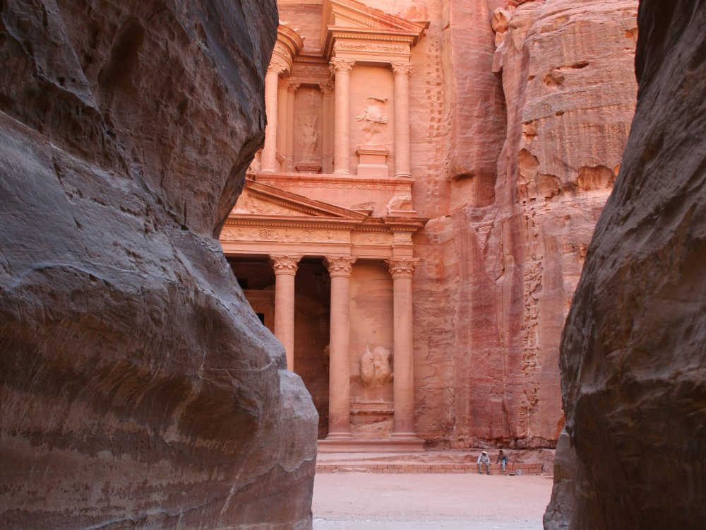 Felsenstadt Petra durch den Siq