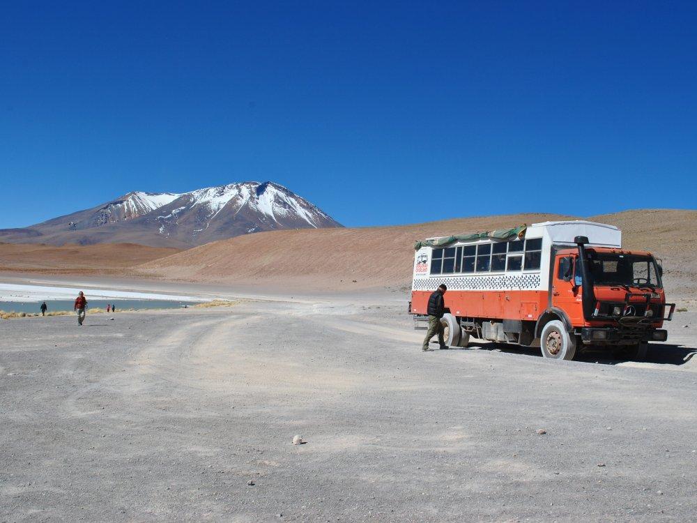 Truck im Altiplano Bolivien