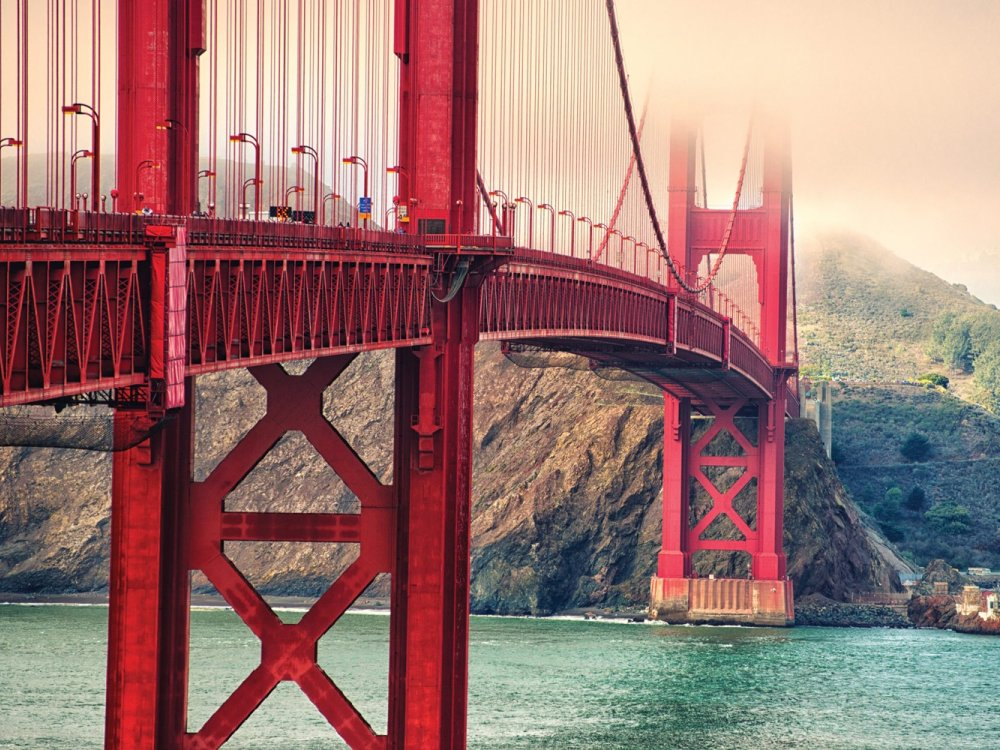 Golden Gate Bridge im kalifornischen San Francisco