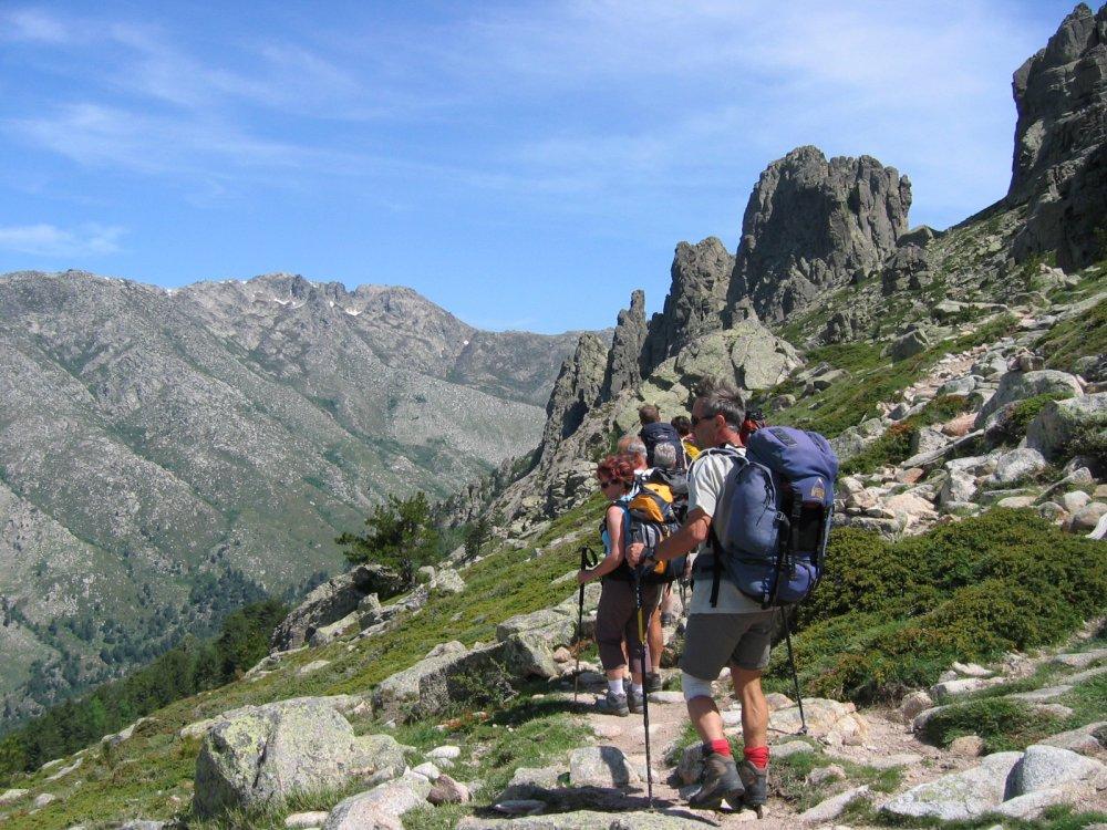 Korsika GR 20 Wanderweg Südteil