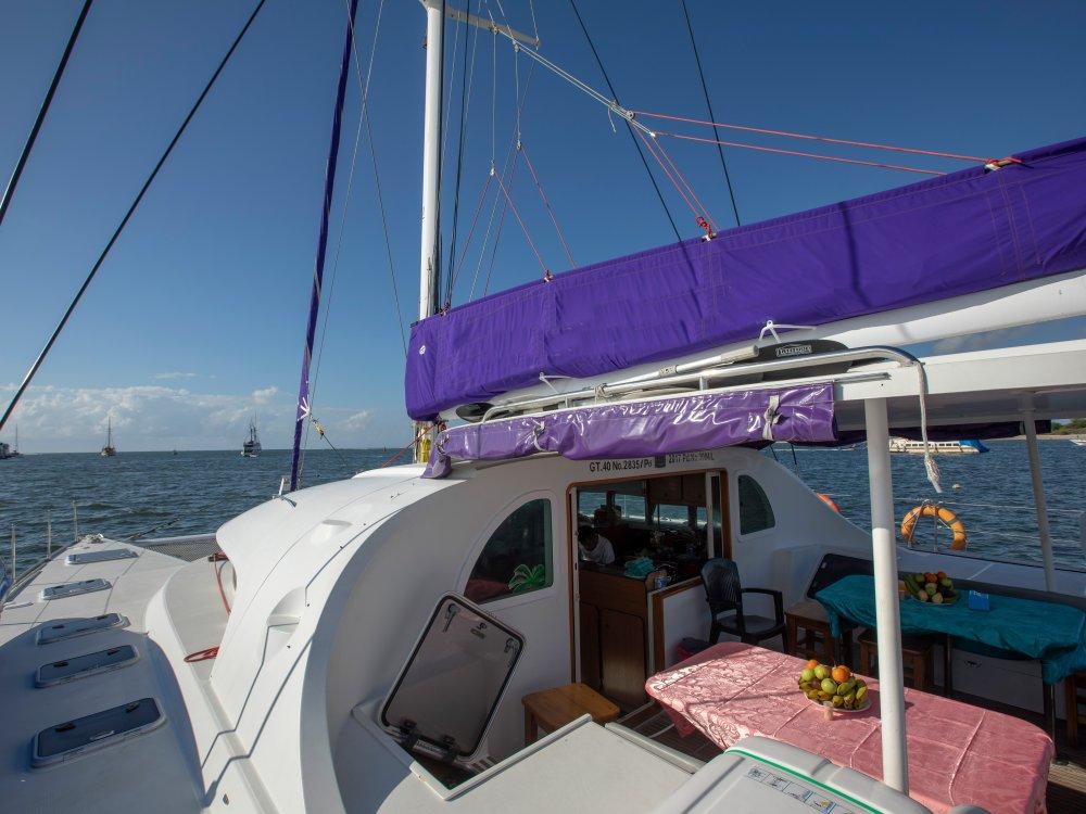 Indonesia Sailboat Deck